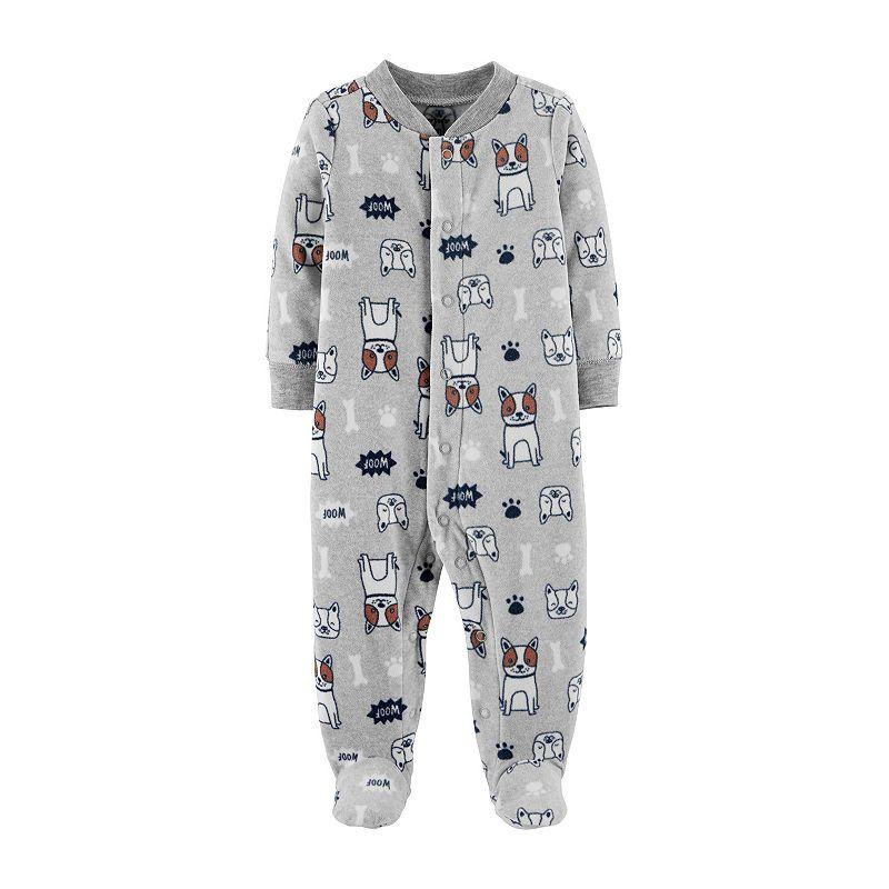 e006281ba Carter s Fleece Sleep and Play - Baby Boy