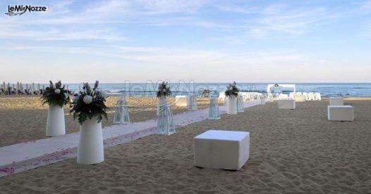 Matrimonio In Spiaggia Di Sera : Http lemienozze gallerie foto fiori e