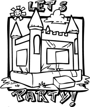 image result for bounce house clip art black and white school rh pinterest com gingerbread house clipart black and white gingerbread house clipart black and white