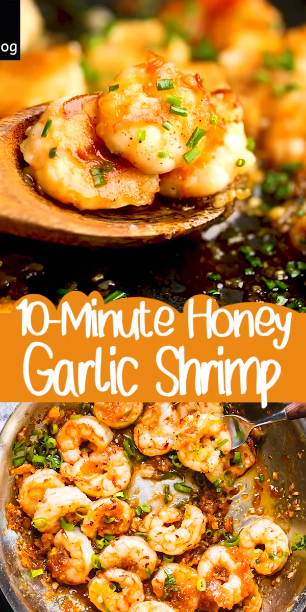 10-minute Honey Garlic Shrimp