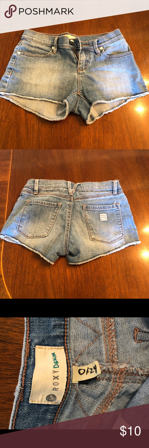 Roxy Denim Cutoff Shorts Light blue wash Roxy denim Cutoff shorts. Roxy Shorts Jean Shorts #denimcutoffshorts Roxy Denim Cutoff Shorts Light blue wash Roxy denim Cutoff shorts. Roxy Shorts Jean Shorts #denimcutoffshorts