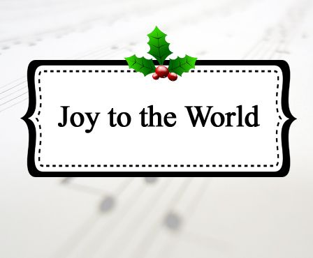 joy to the world celebrating holidays includes a lyric video for singing along