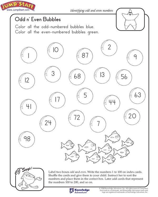 Odds And Evens Math Pinterest Math