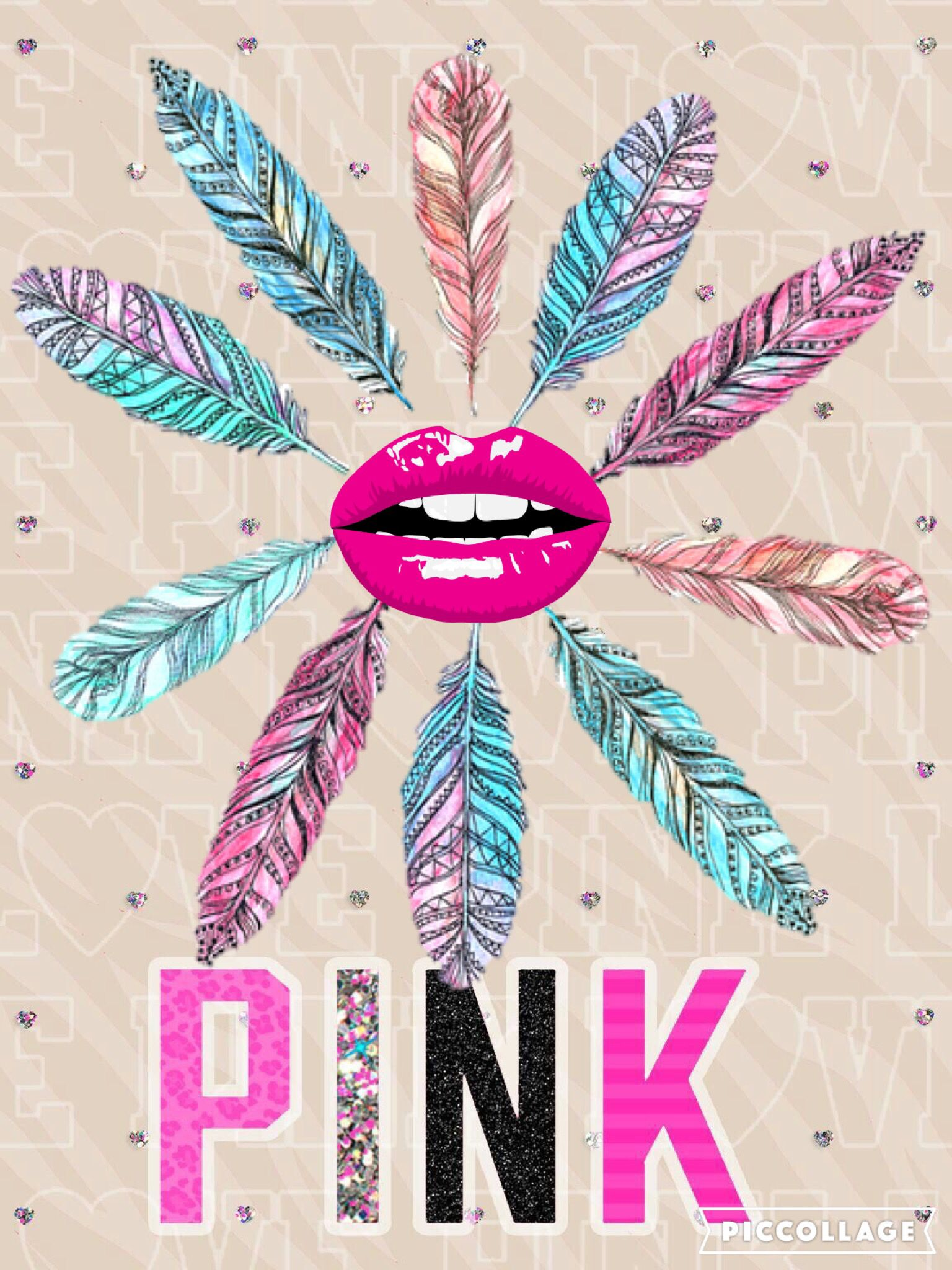 PINK girly | Iphone Wallpapers...Create by me | Pinterest | Pink wallpaper iphone, Pink ...