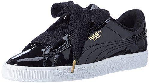 Basses Noirblack Basket Black39 Puma Heart Patent Baskets Femme 8n0vwmNO