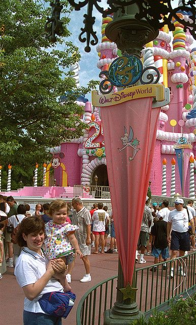 Walt Disney World 25th Anniversary. My first trip was during this celebration!