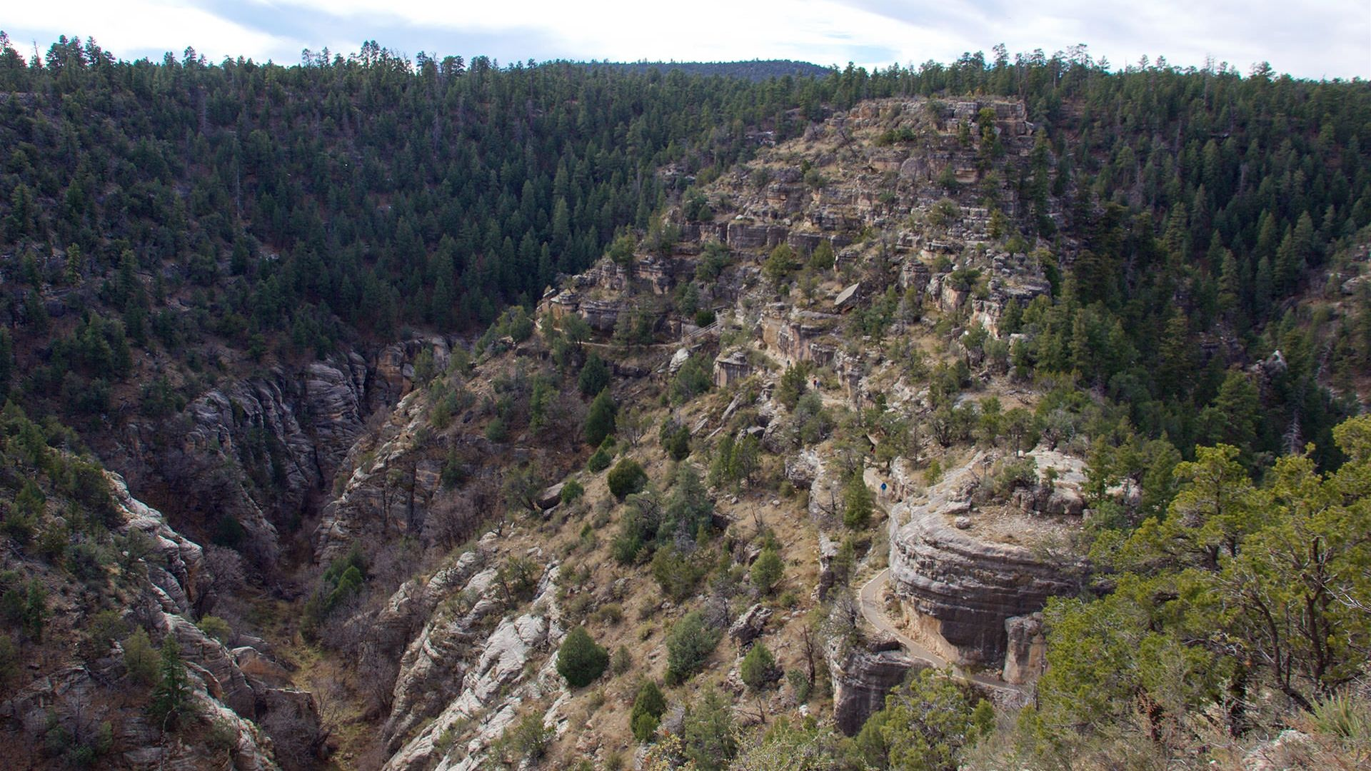 Walnut Canyon National Park Foundation National Monuments