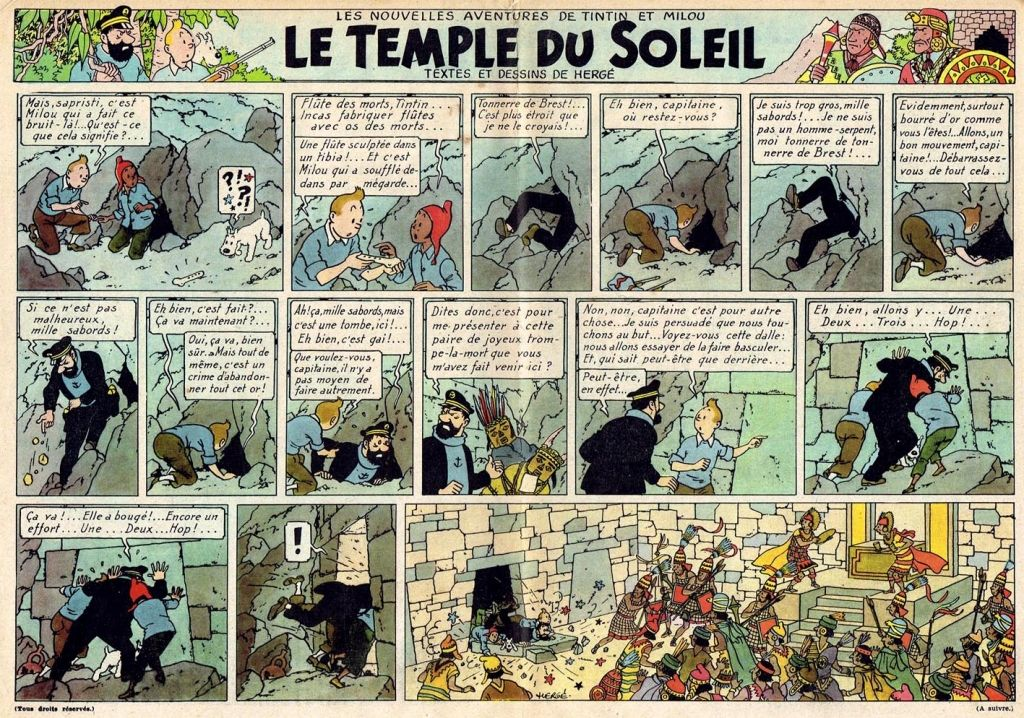 TINTIN Prisoners of the Sun Hergé RG tintin.com