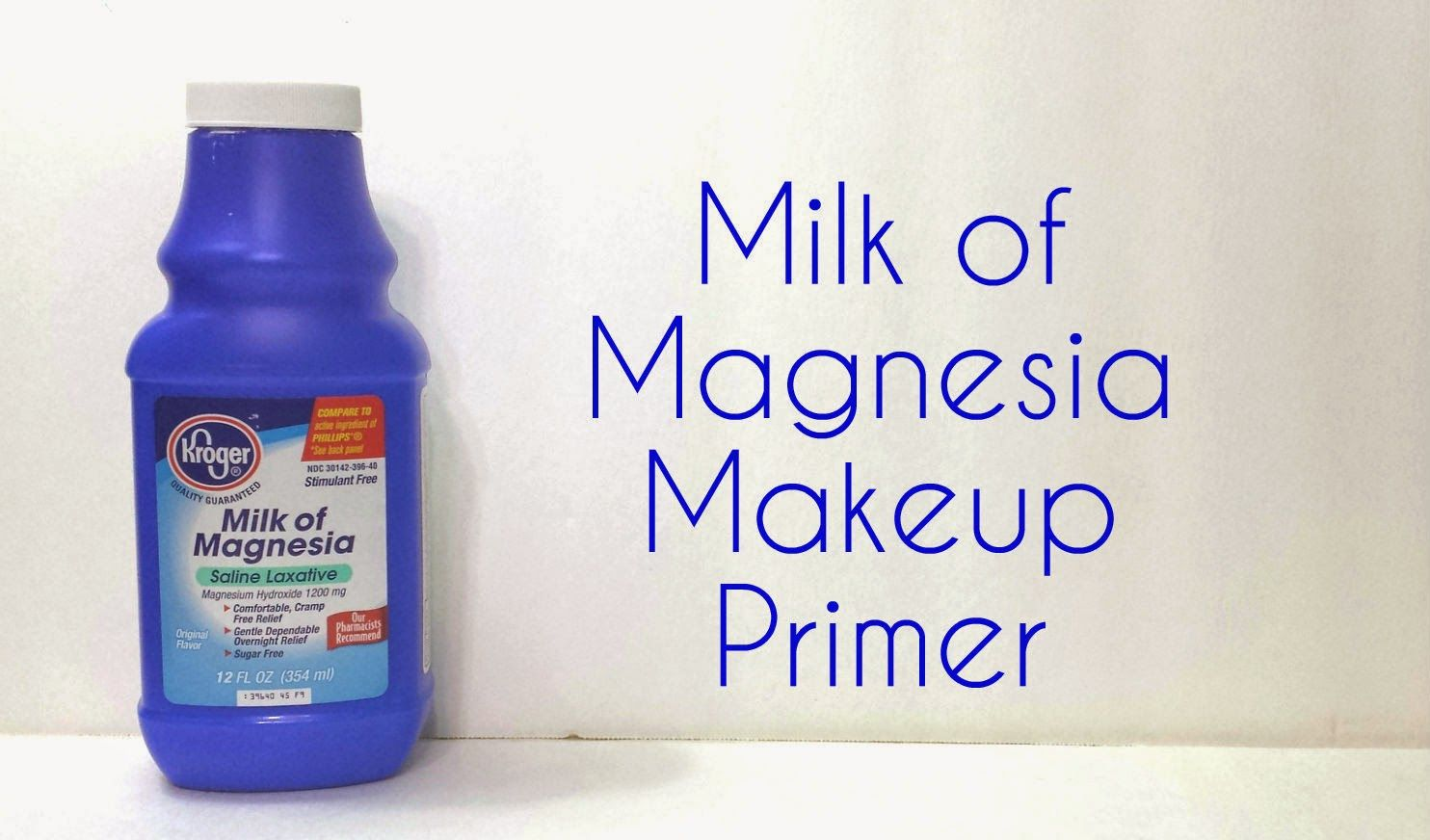 Milk of Magnesia Makeup Primer Does It Work? Makeup