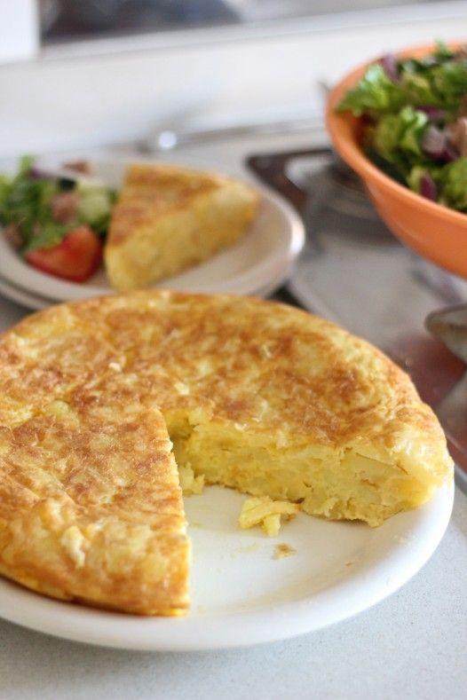 Tortilla De Patata Spanish Omelette Recipe Food Recipes Love Food