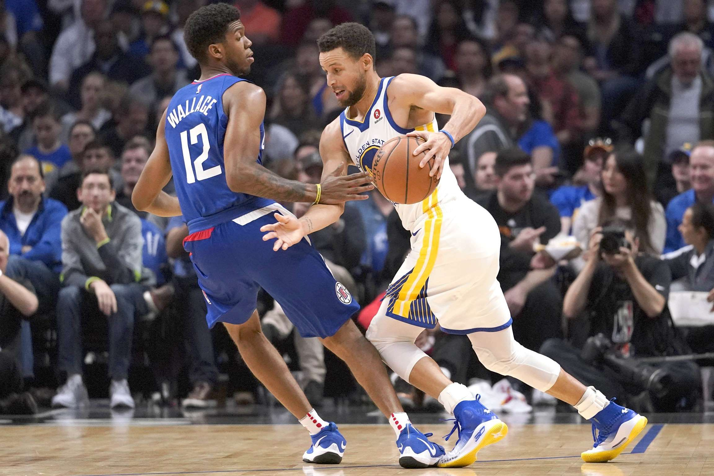 eee827906155 Golden State Warriors at Los Angeles Clippers - Kelvin Kuo-USA TODAY Sports  Reuters