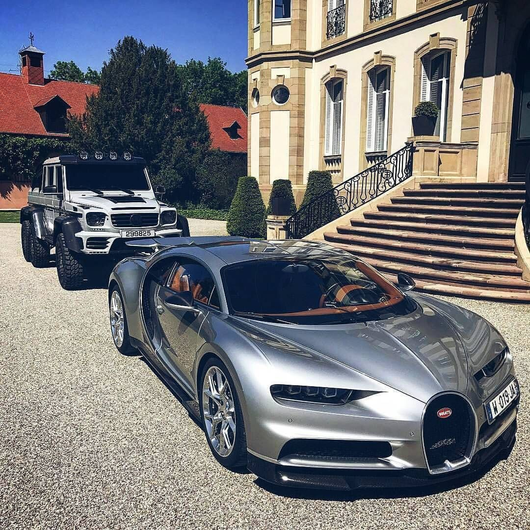 "Only Bugatti Chirons on Instagram: ""Double threat •Photo by @gmk001 #Bugatti #Chiron #OnlyChirons"""