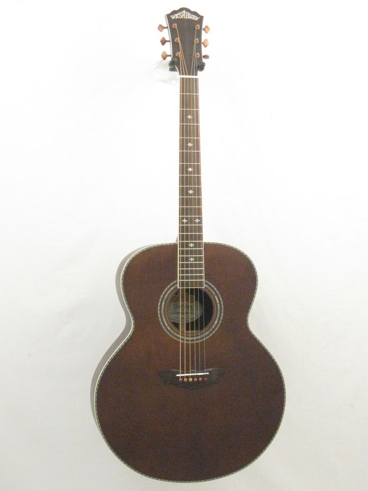 Washburn Wj130ek Guitar Acoustic Electric Jumbo Vintage Style Blem 950 Washburn Acoustic Electric Guitar Acoustic Electric Guitar