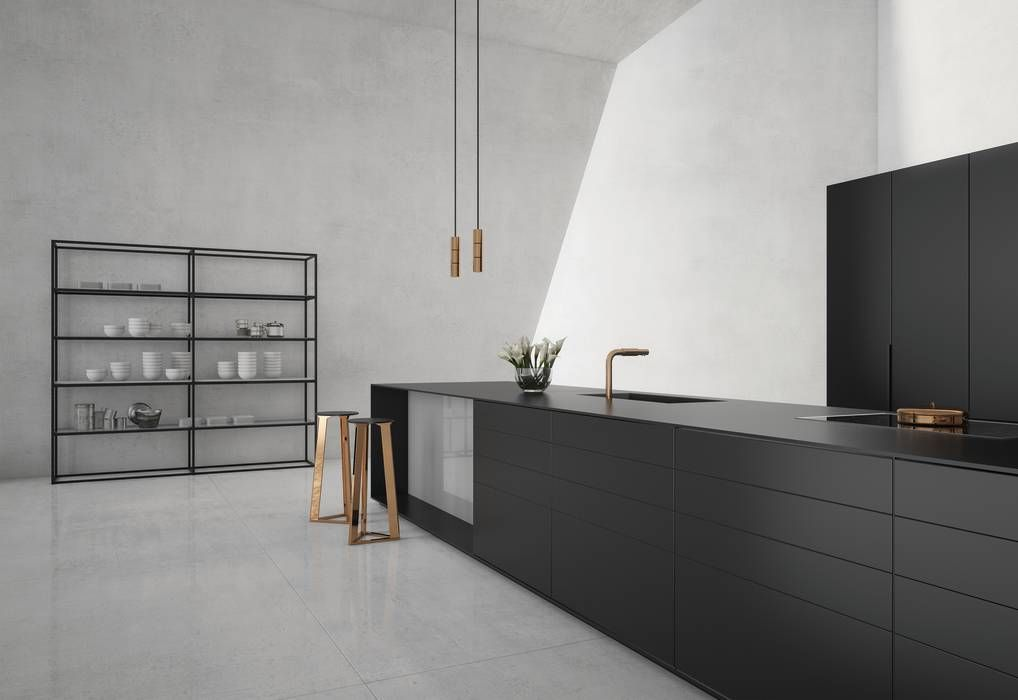 minimalistische küche von | Einrichten und Wohnen | Pinterest ...