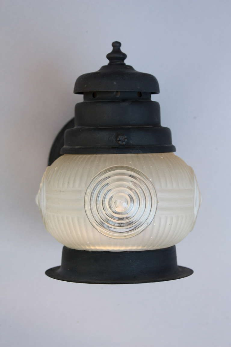 1930s Exterior Cottage Style Light Fixture Our Home