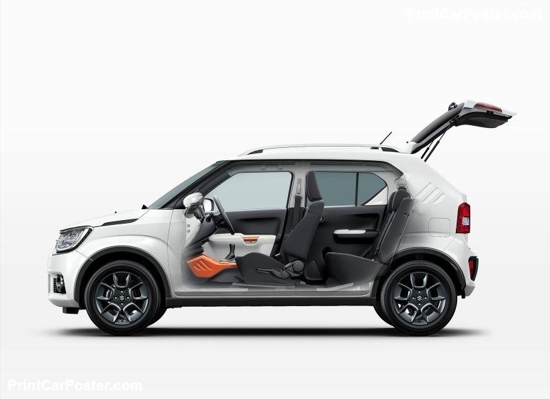 Suzuki Ignis 2017 Poster Motor Car Cars Cool Cars