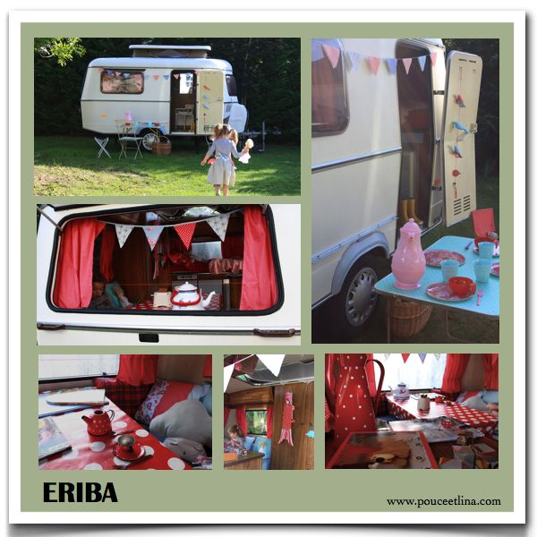 caravan trailer pour elise pinterest caravane caravane eriba et relooking caravane. Black Bedroom Furniture Sets. Home Design Ideas