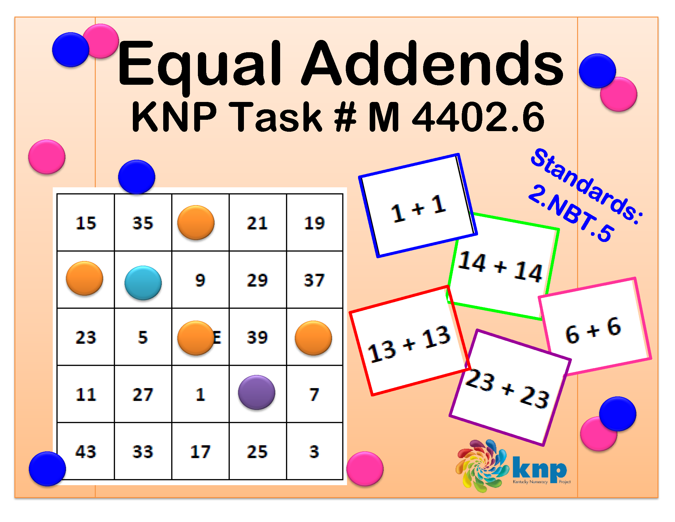 Equal Addends