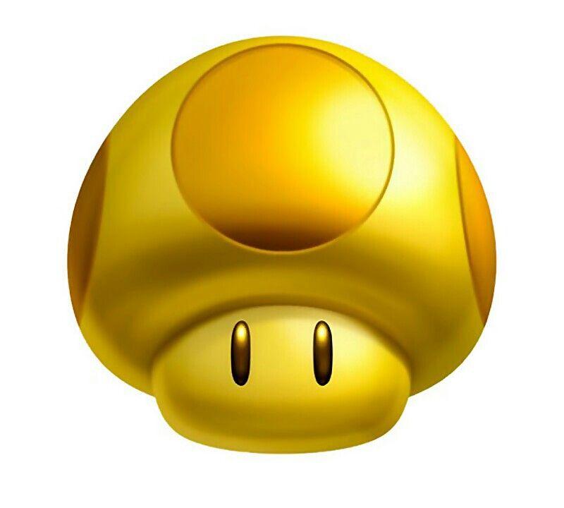 Gold Mushroom - Characters  Art - New Super Mario Bros 2.jpg