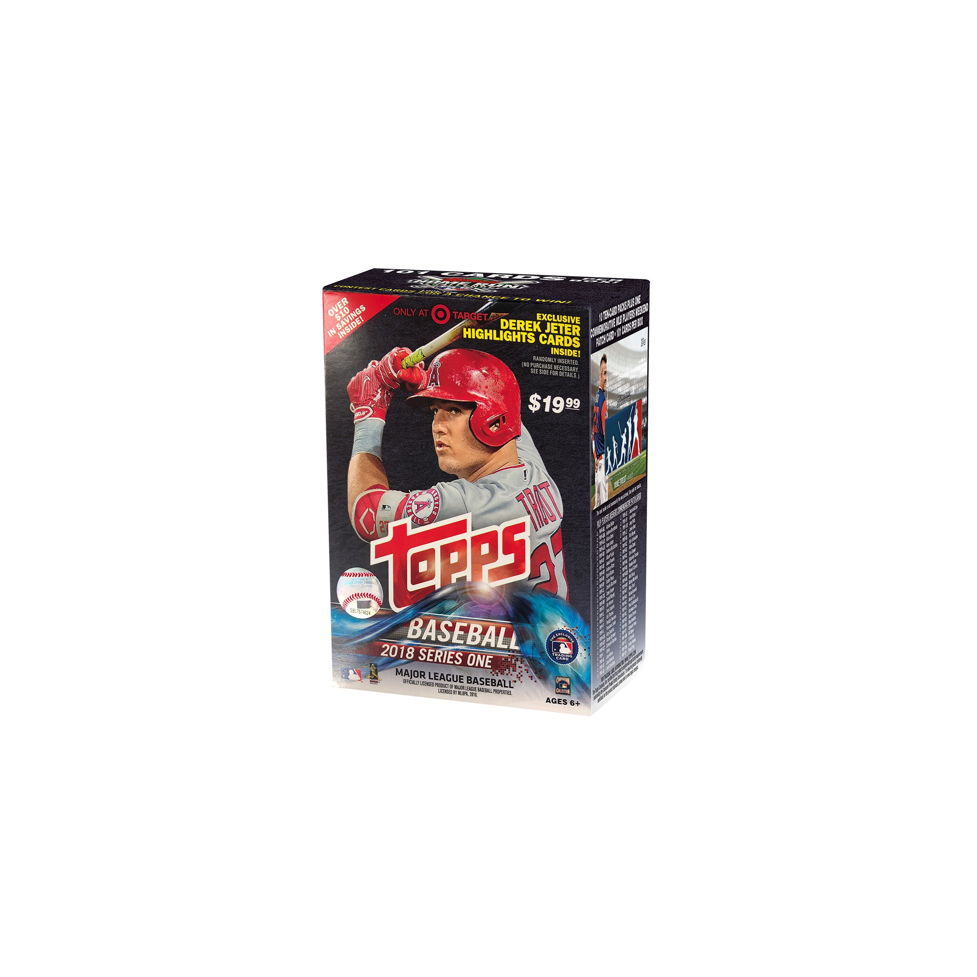 2018 Mlb Topps Baseball Trading Cards Series 1 Full Box