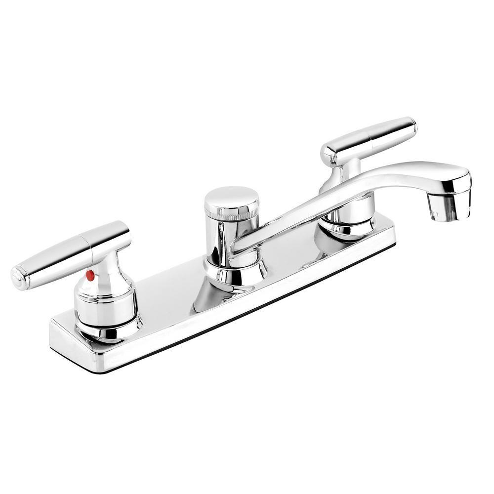 Belanger By Keeney Belanger 2 Handle Standard Kitchen Faucet In