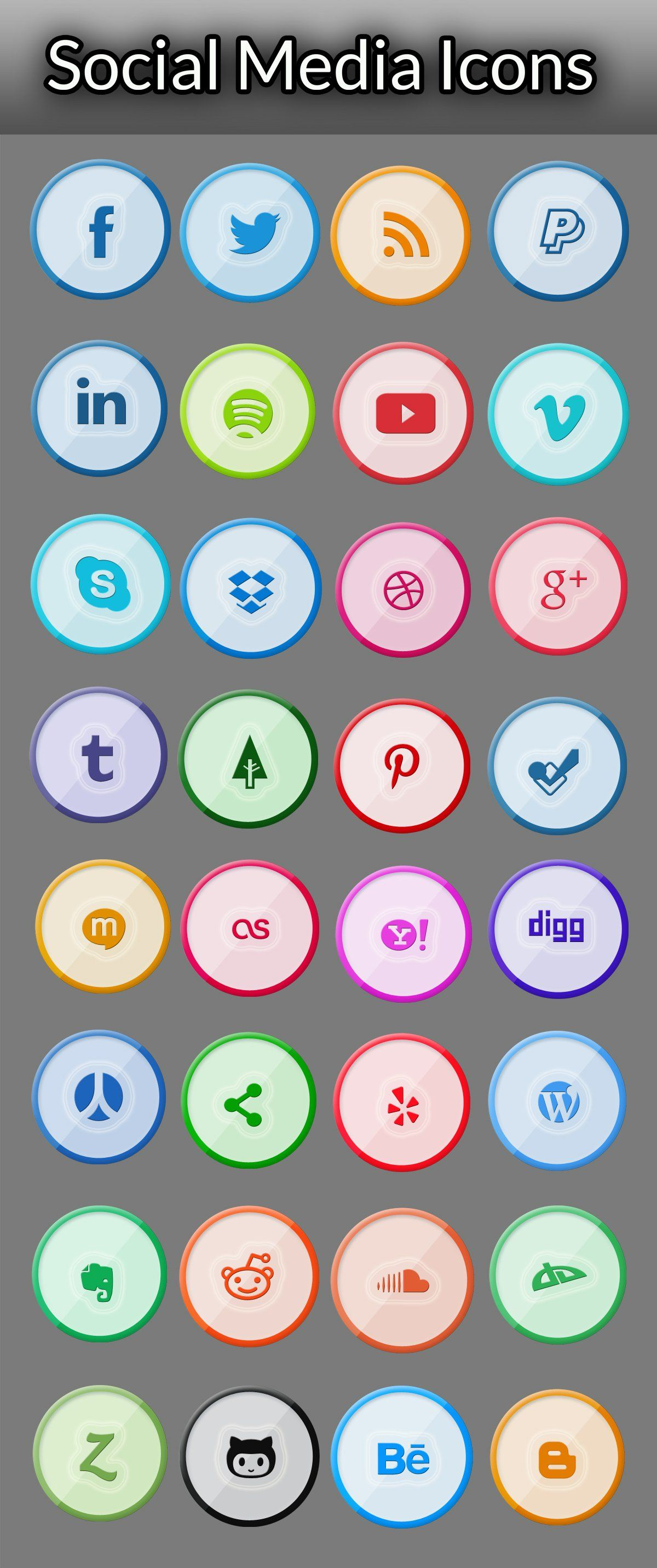 Free Icons for Web and User Interface Design 71