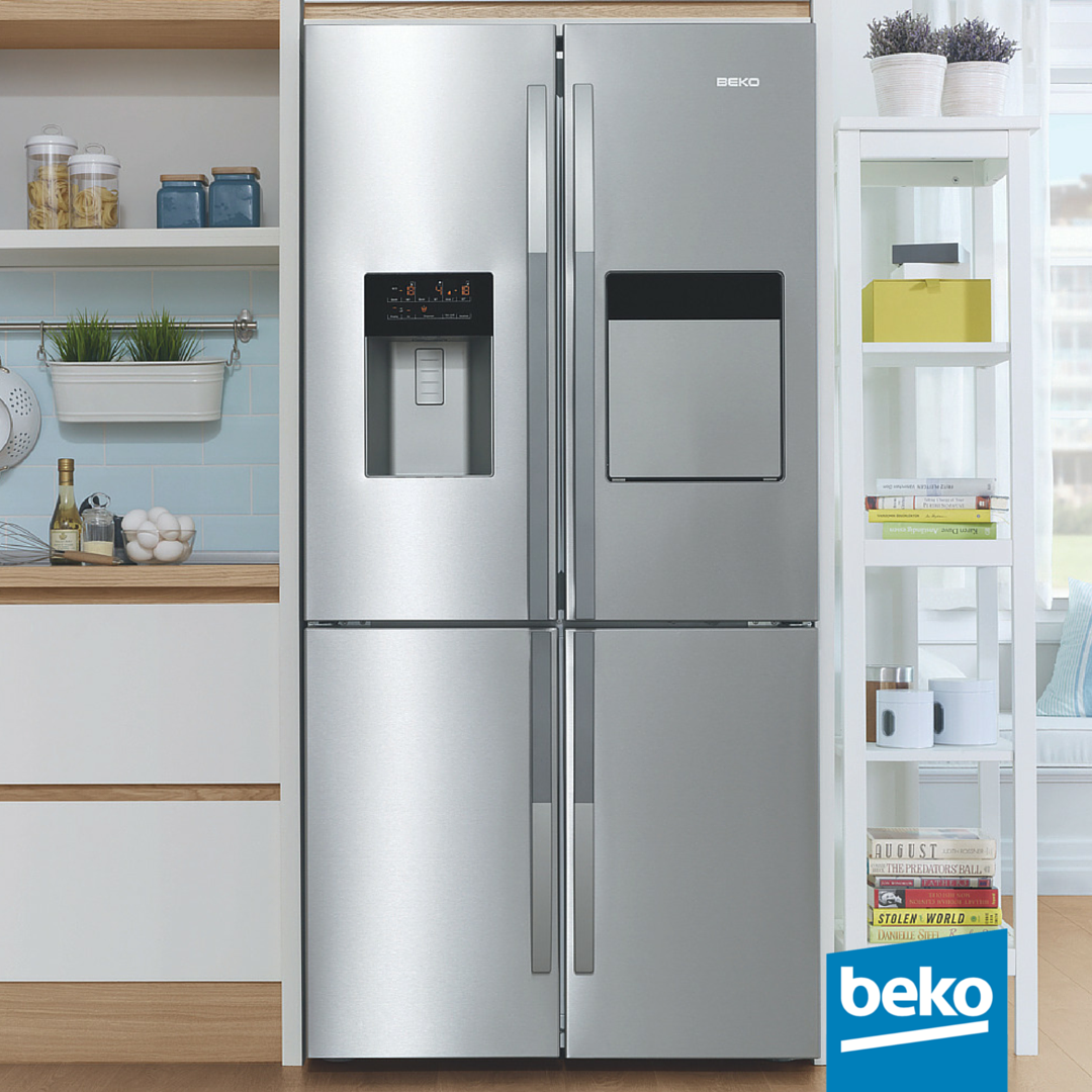 In Beko 4-Door Refrigerators you can have the flexibility to change ...