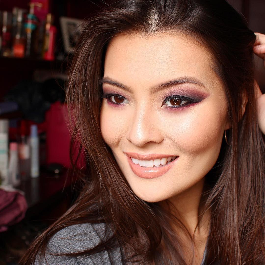 выглядит макияж для монголоидного типа глаз фото будете тщательно соблюдать