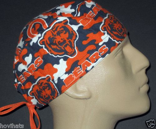 JUST LISTED THIS RARE CHICAGO BEARS SCRUB HAT IN MY STORE, HOVIHATS.COM! WAY TO GO BEARS! GREAT GAME!!