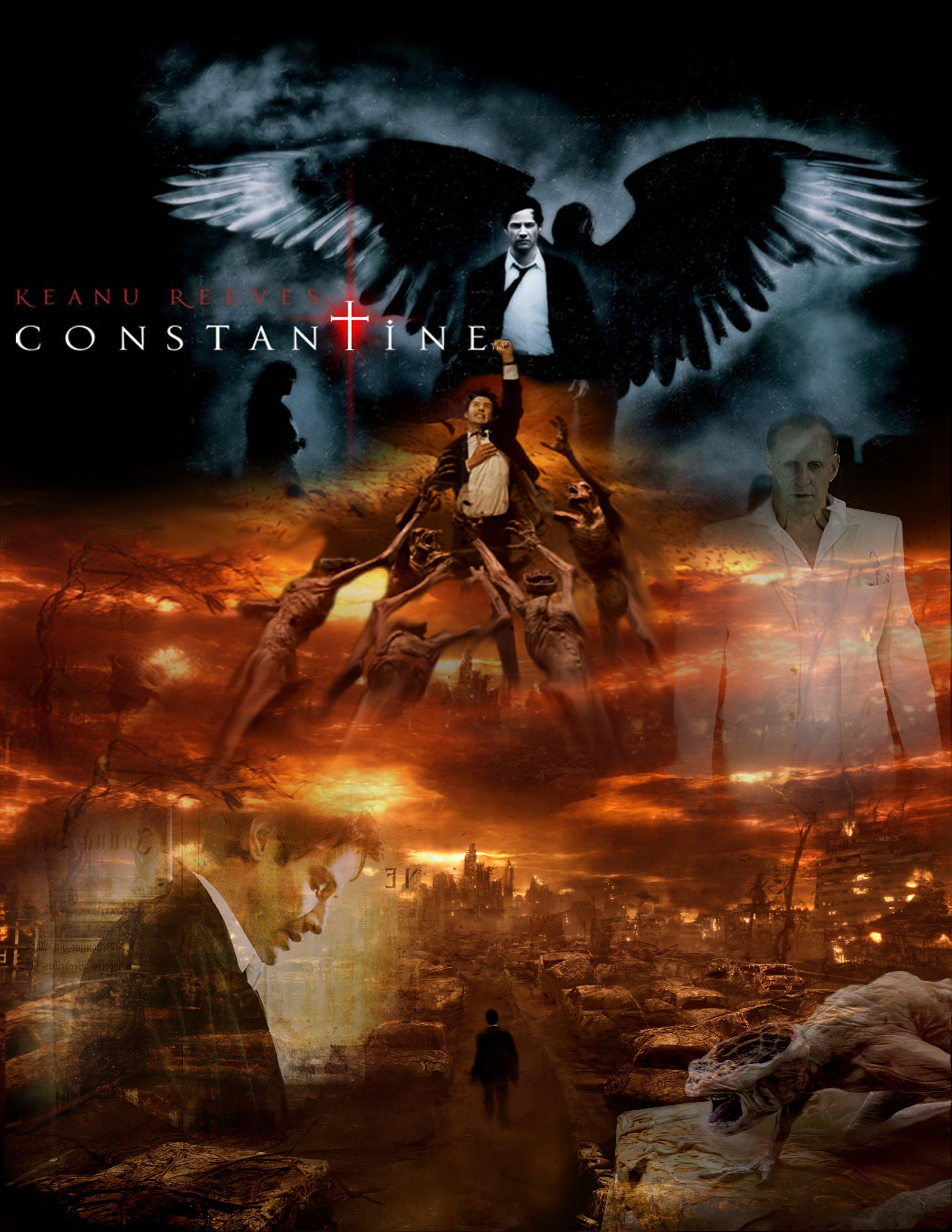 Constantine Peliculas Cine Comic