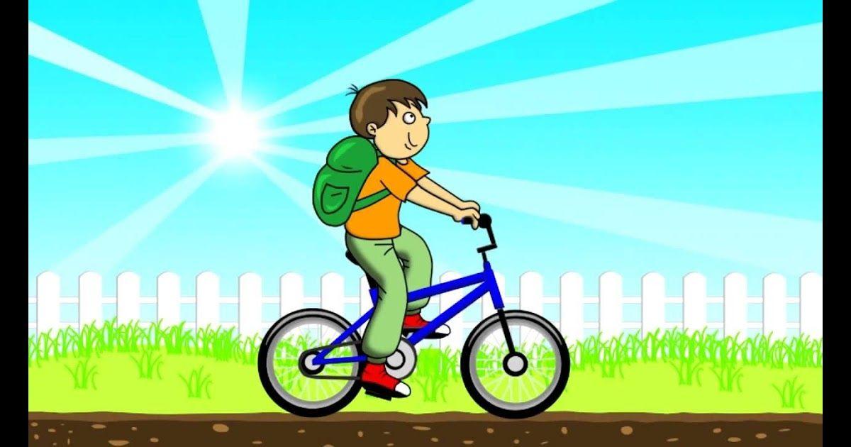 ✓ Terbaru Gambar Kartun Anak Kecil Naik Sepeda