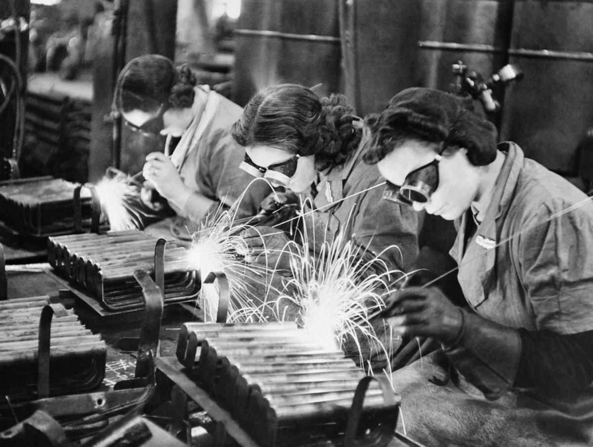 Women In The Workforce During World War Ii