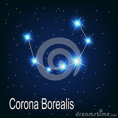 The Constellation Corona Borealis Star In The Constellations Corona Star Constellations