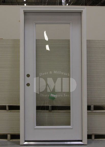 Clear Glass Residential Exterior Door Google Search