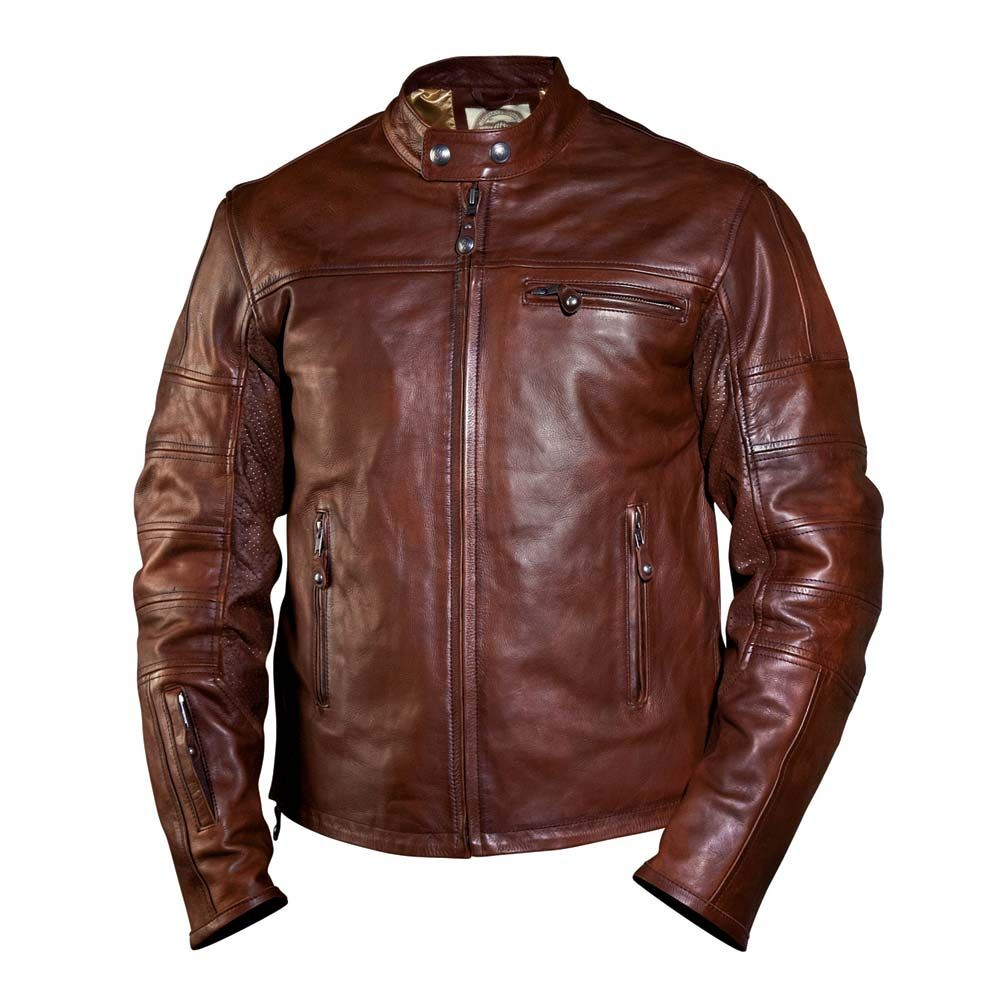 Roland Sands Ronin Leather Jacket Tobacco Roland Sands Jackets Free Uk Delivery The Cafe Racer Moda Masculina Jaqueta Jaqueta De Couro [ 1000 x 1000 Pixel ]