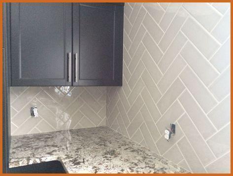 4x12 Subway Tile Herringbone Backsplash Kitchen Google