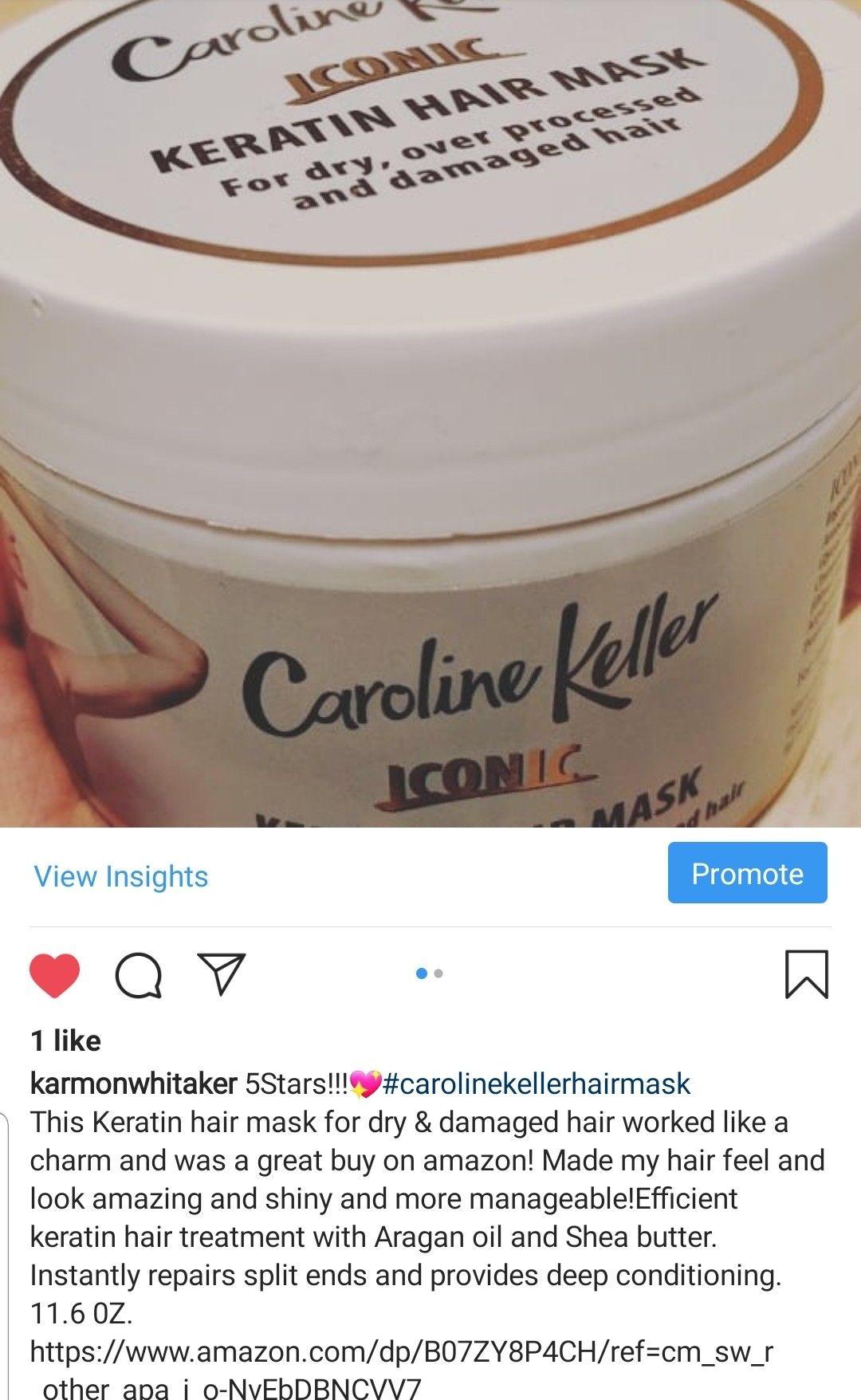 Caroline Keller Hair Mask in 2020 Keratin hair, Keratin