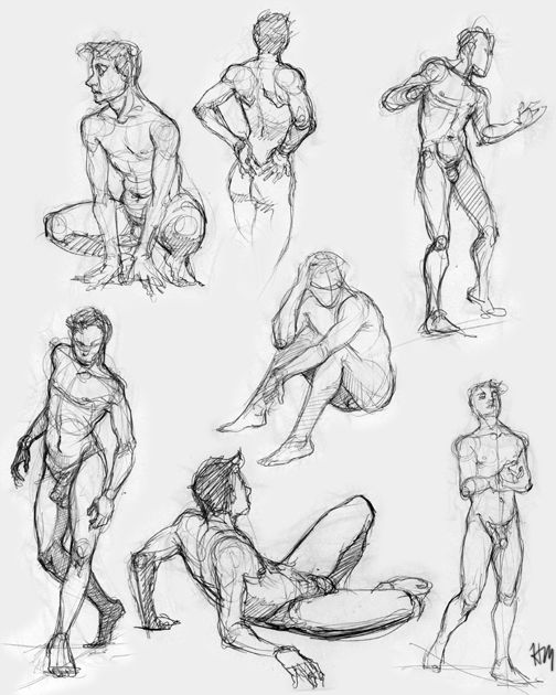 Figures 5 By Luthie13 On Deviantart Poses Pinterest