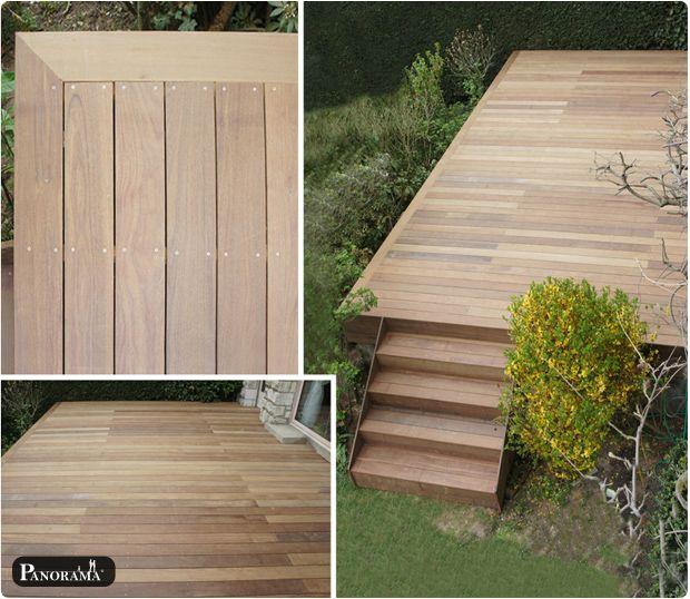 terrasse bois exotique ipé vaucresson 92 hauts de seine Jardin