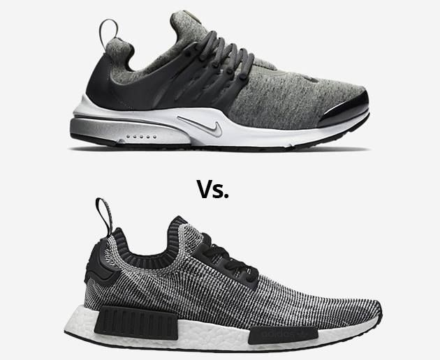 Nike Air Presto Vs. Adidas NMD