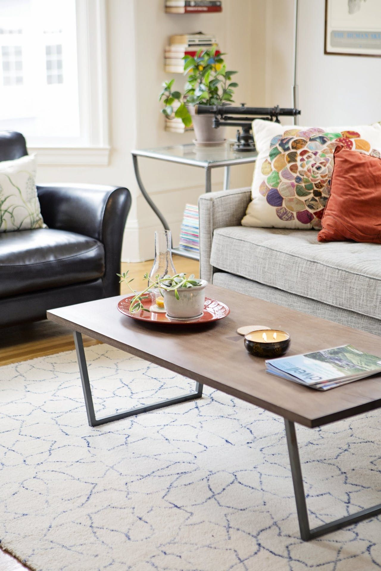 Carly Scott S Colorful Collected Apartment Coffee Table