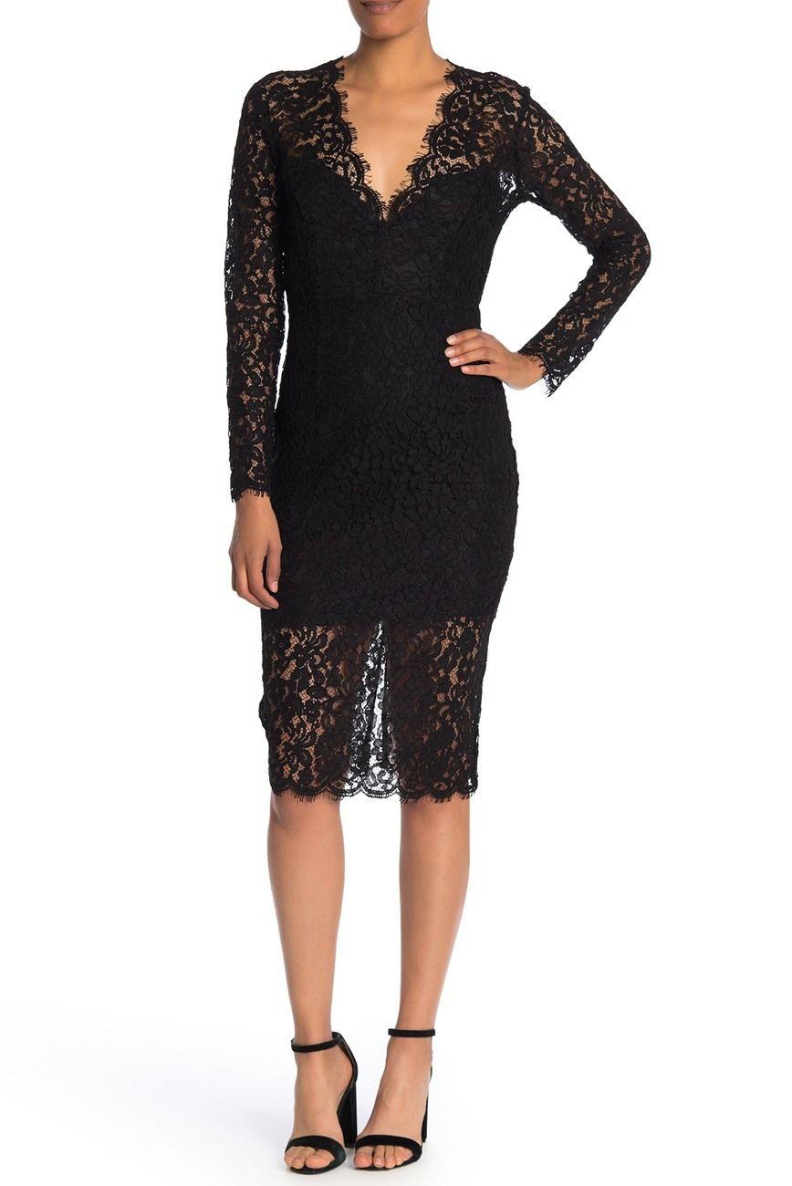 Bardot Midnights Lace Dress Nordstrom Rack Lace Dress Nordstrom Dresses Bardot Lace Dress [ 1300 x 868 Pixel ]