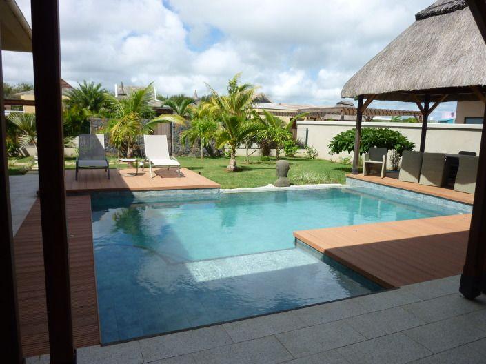 Echange villa avec piscine à l\u0027Île Maurice contre maison ou - location maison cap d agde avec piscine