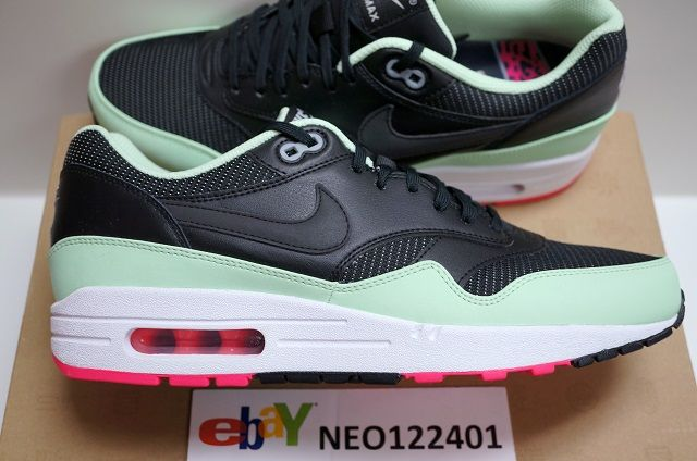 New nike air max 1 fb air yeezy kanye west mint pink sz. 8