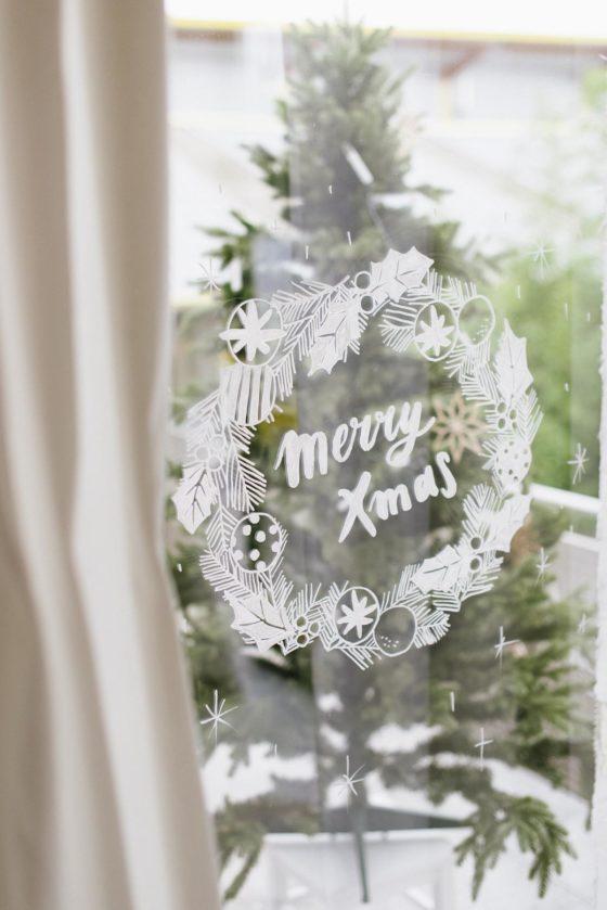 Vorlagenset Fur Fenster Merry Xmas Fraulein K Sagt Ja Partyshop Fensterbilder Weihnachten Weihnachten Ideen Fur Weihnachten