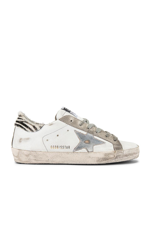 Golden Goose Superstar Sneaker in White