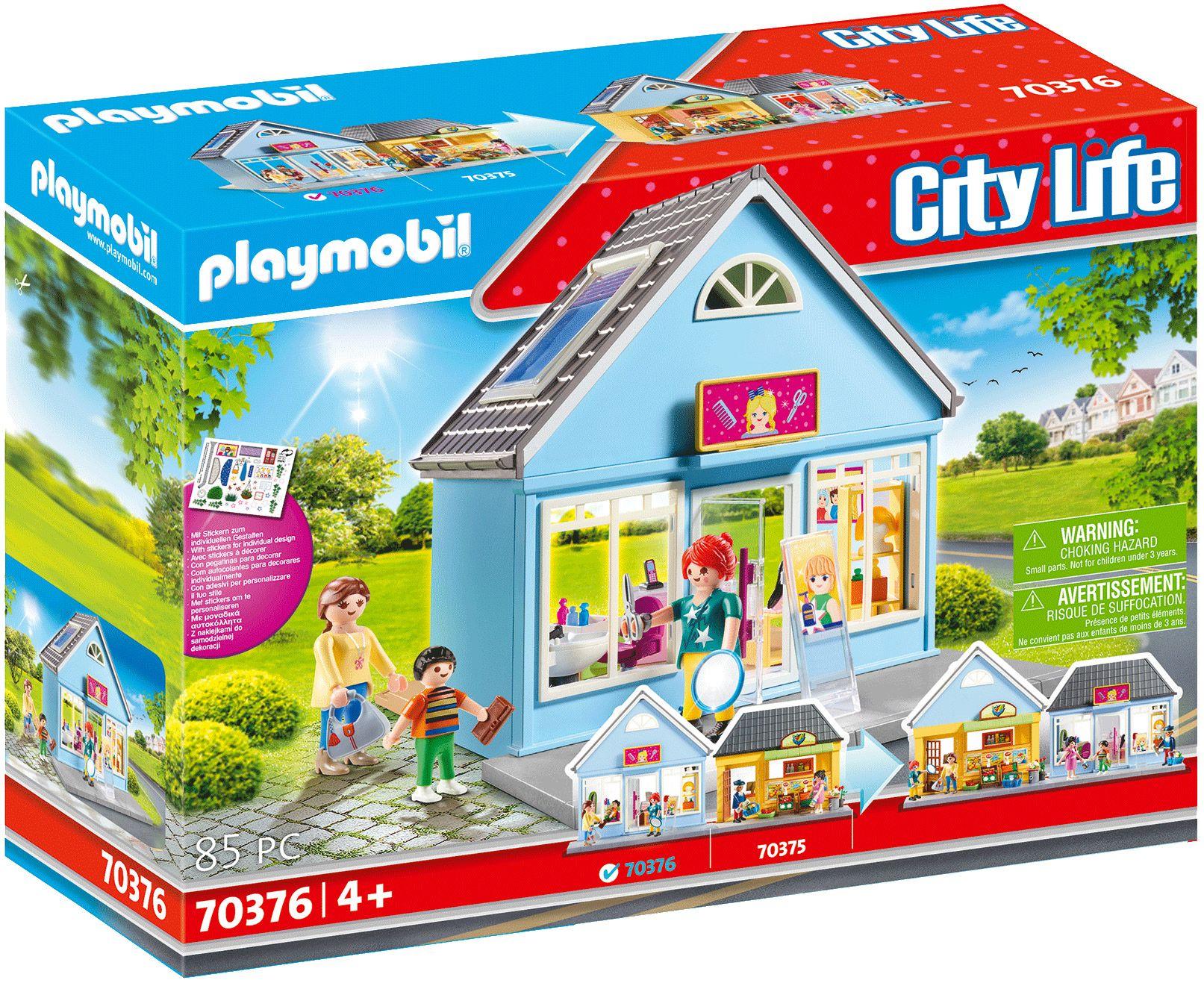 Calendrier De Lavent Playmobil 2021 PLAYMOBIL City Life 70376 : Salon de coiffure en 2020 | Playmobil