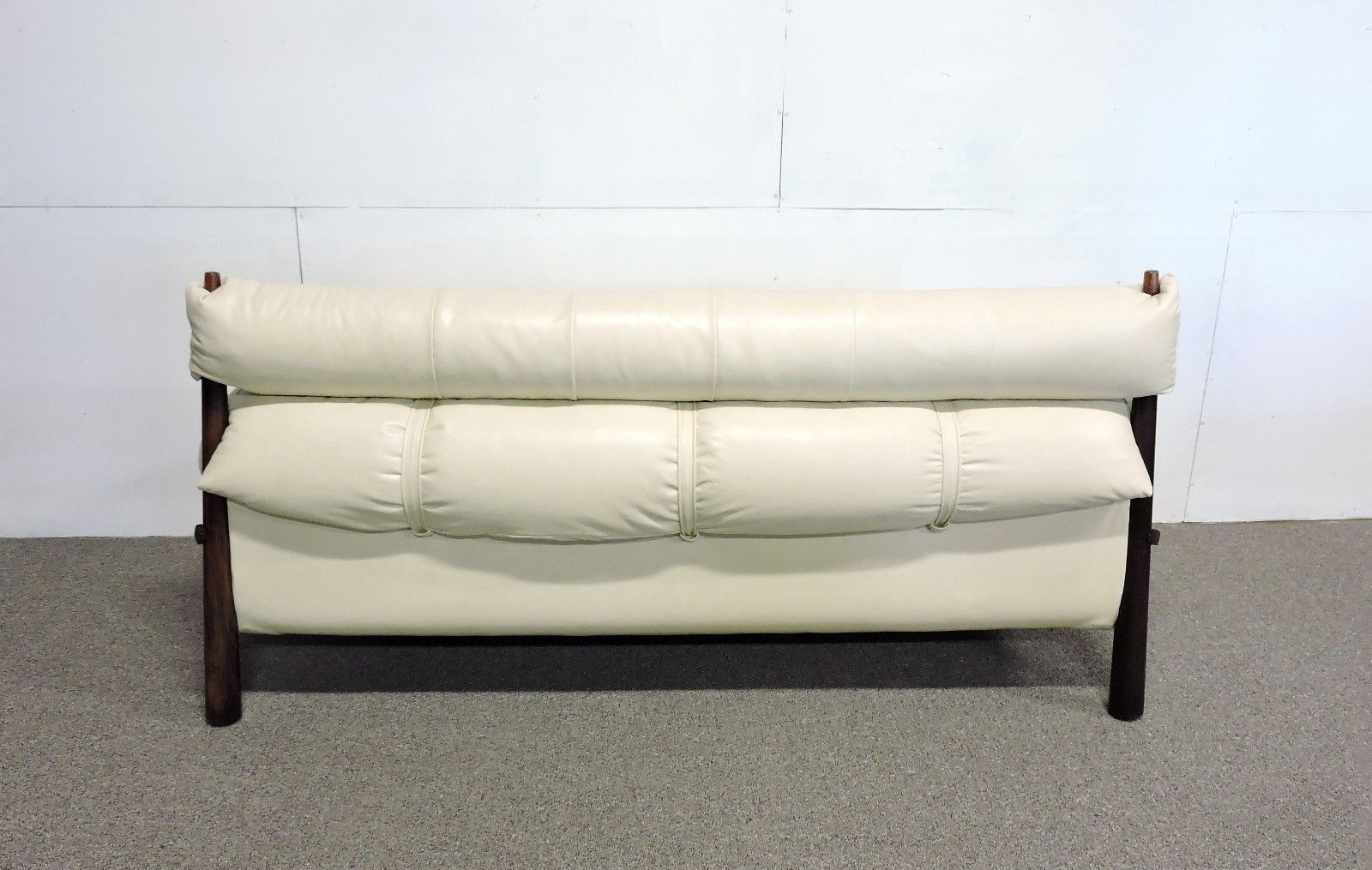 Retro Inflatable Sofa Percival Lafer Mid Century Modern Brazilian Rosewood Sofa New
