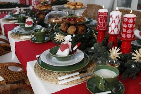mesas-de-navidad | Decoración NAvidad | Pinterest