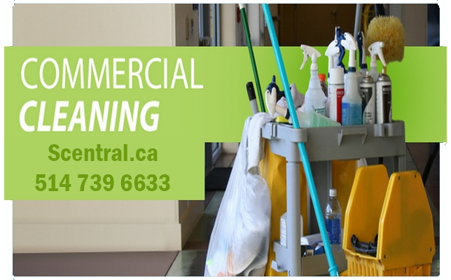 Professional Commercial cleaning Services in Montreal